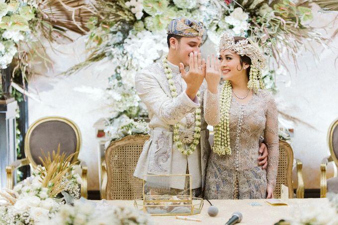 Arman & Alya Traditional Wedding Day by Verakebaya - 006