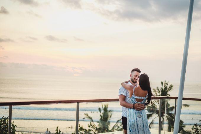 Chris & Jade Proposal Dinner by Sheraton Bali Kuta Resort - 002
