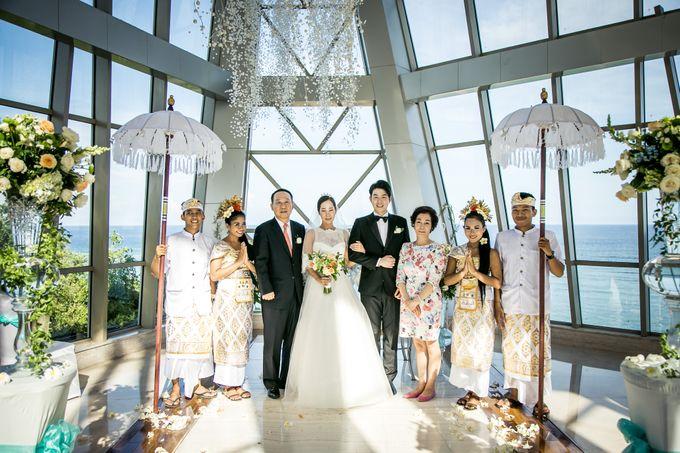 The Wedding of Mr Chung Suk Won & Ms Lee Jung Min by Bali Wedding Atelier - 017
