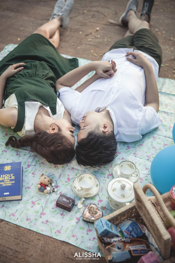 Prewedding of Christian-Vina at Alissha by Alissha Bride - 006