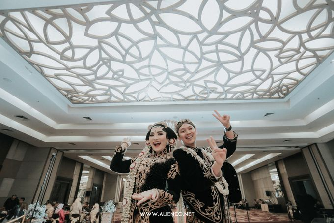 THE WEDDING OF ANGGI & iNDRA by alienco photography - 031