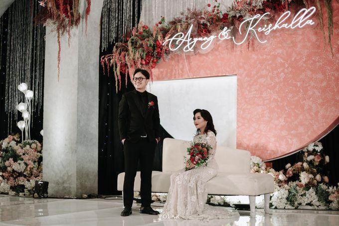Wedding of Agung & Keyshalla at Trans Convention Center by Valentine Wedding Decoration - 028