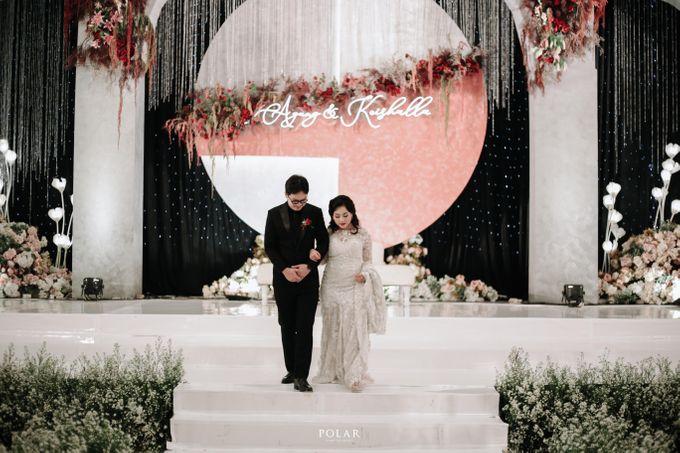 Wedding of Agung & Keyshalla at Trans Convention Center by Valentine Wedding Decoration - 029