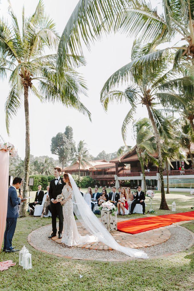 Club Med Cherating Beach wedding   Katelyn & Luca by JOHN HO PHOTOGRAPHY - 024