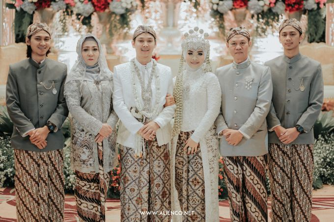 THE WEDDING OF ANGGI & iNDRA by alienco photography - 035
