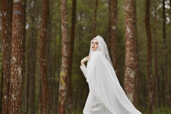 Akad Hijrah Series 04 Busana Syari Akad by LAKSMI - Kebaya Muslimah & Islamic Bride - 004