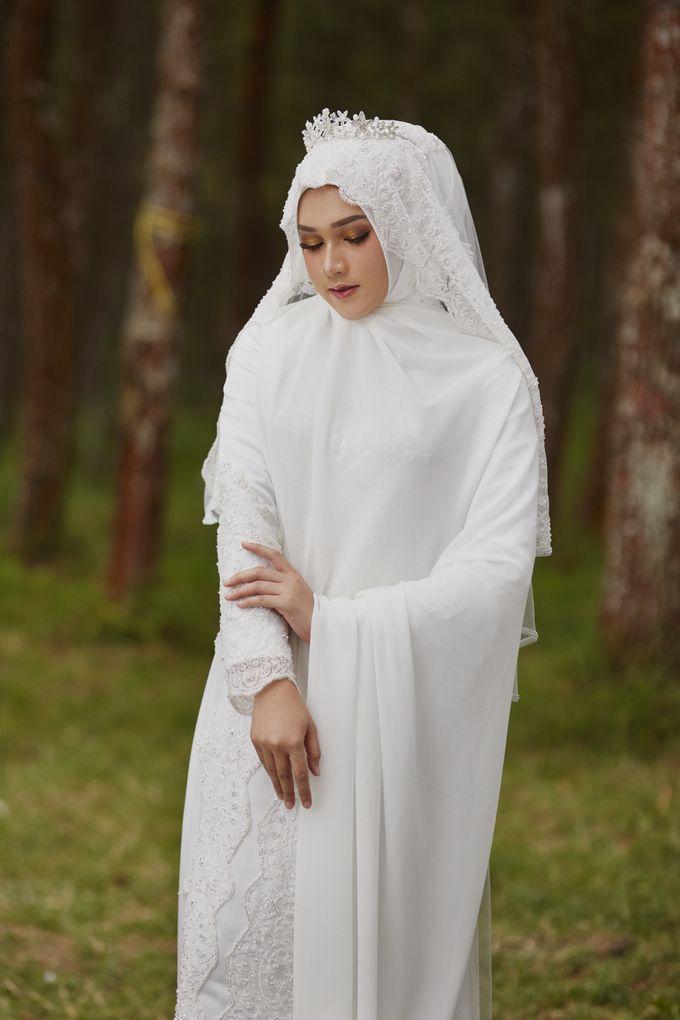 Akad Hijrah Series 04 Busana Syari Akad by LAKSMI - Kebaya Muslimah & Islamic Bride - 001