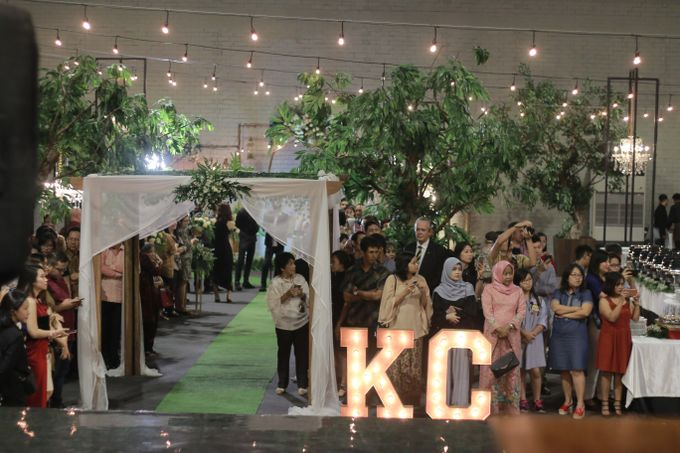 The Wedding of Cory & Kevin by Decor Everywhere - 005