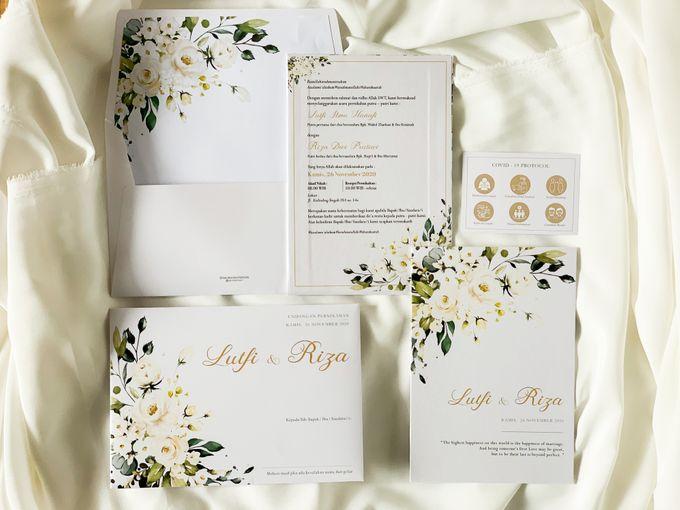 From The Wedding Of Lutfi Riza By Moria Invitation Bridestory Com