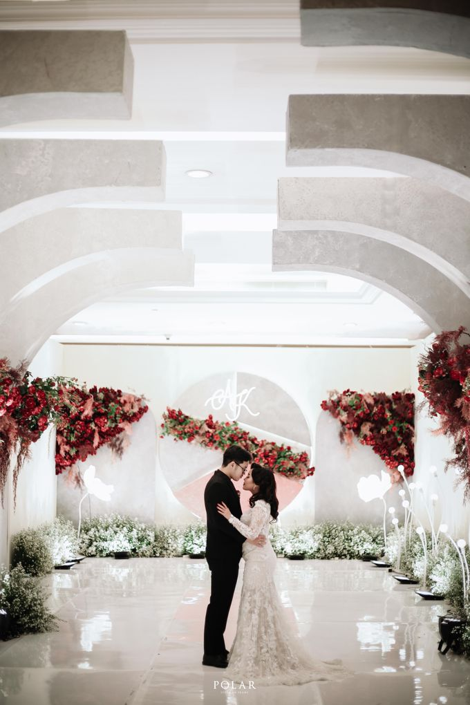 Wedding of Agung & Keyshalla at Trans Convention Center by Valentine Wedding Decoration - 030