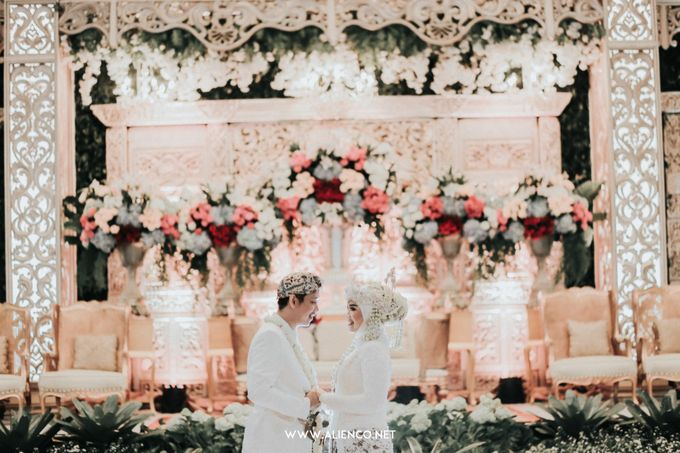 THE WEDDING OF ANGGI & iNDRA by alienco photography - 043