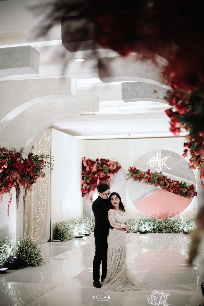Wedding of Agung & Keyshalla at Trans Convention Center by Valentine Wedding Decoration - 031