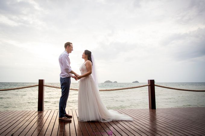 Rob and Michelle wedding at Conrad Koh Samui by BLISS Events & Weddings Thailand - 010