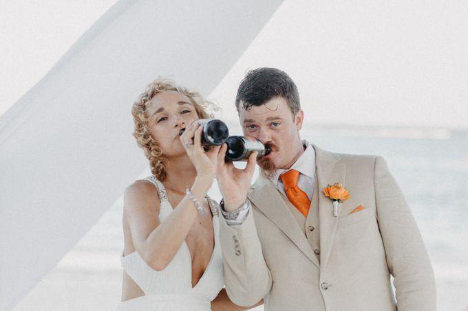 Weddingday Mr & Mrs Battie by Topoto - 036