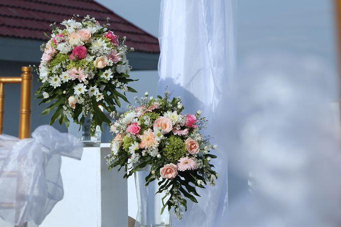 Rooftop Wedding by Courtyard by Marriott Bali Seminyak - 004