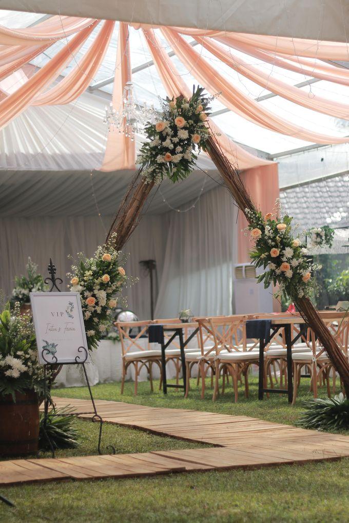 The Wedding of Intan & Fazrin by Decor Everywhere - 013