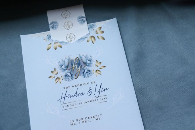 Hendra & Yin Wedding Invitation by Sweet Memoire - 002