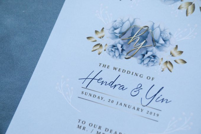 Hendra & Yin Wedding Invitation by Sweet Memoire - 005