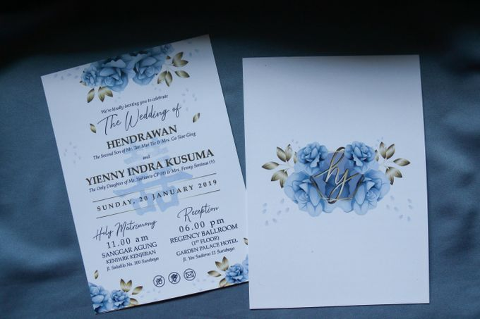 Hendra & Yin Wedding Invitation by Sweet Memoire - 004