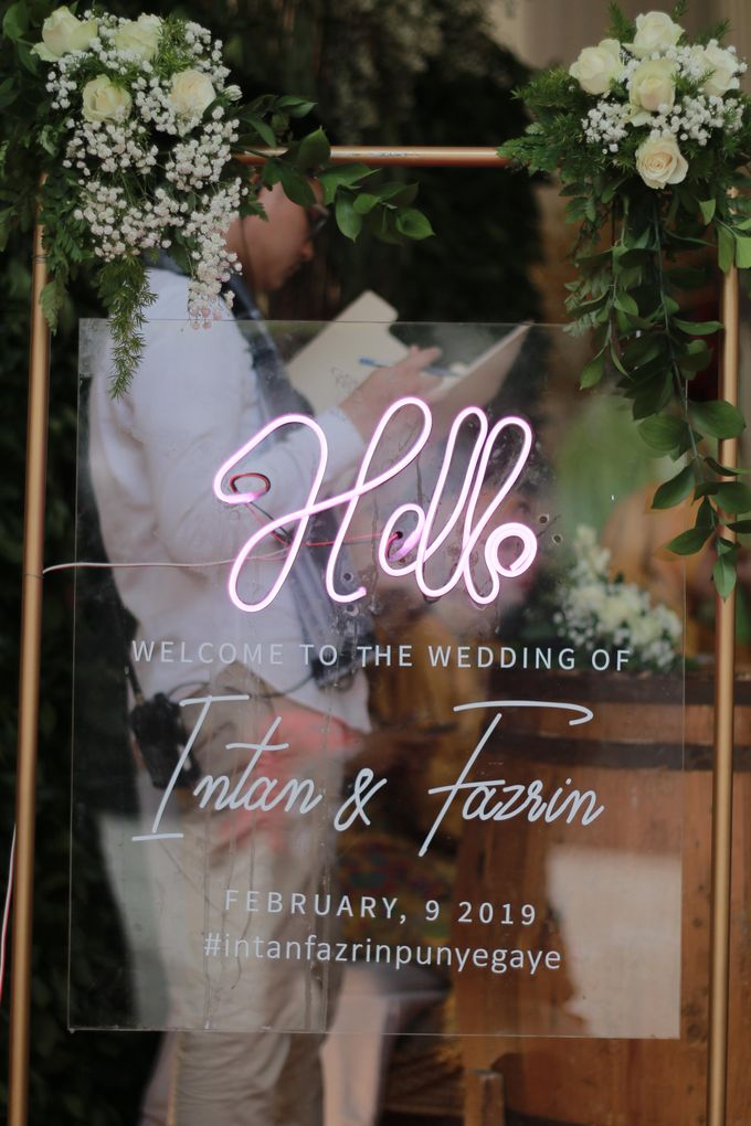 The Wedding of Intan & Fazrin by Decor Everywhere - 020