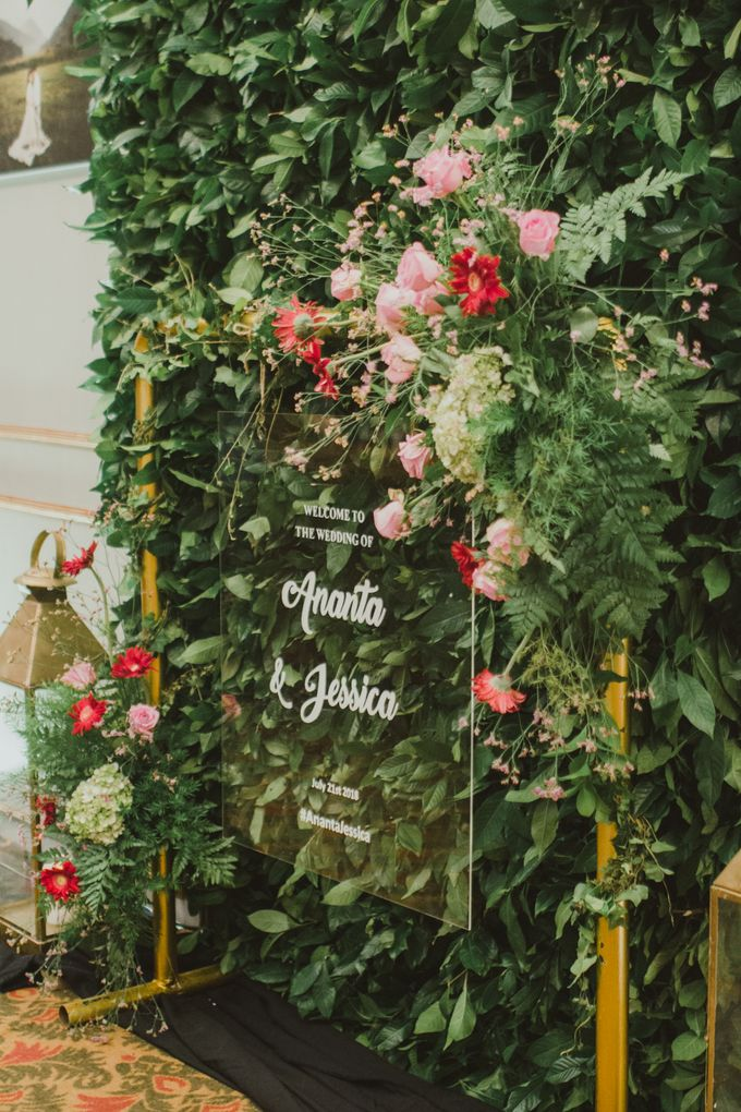 Wedding of Ananta and Jessica by MERCANTILE PENTHOUSE WEDDING - 010