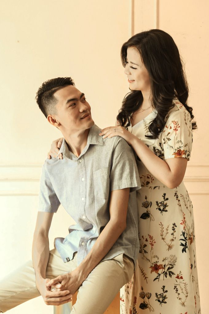 Studio Prewedding - Ana & Ezral by Willie William Photography - 023