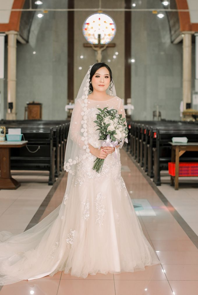 Real intimate wedding on pandemic 2020 MARIA & GALUNG by Kimus Pict - 008