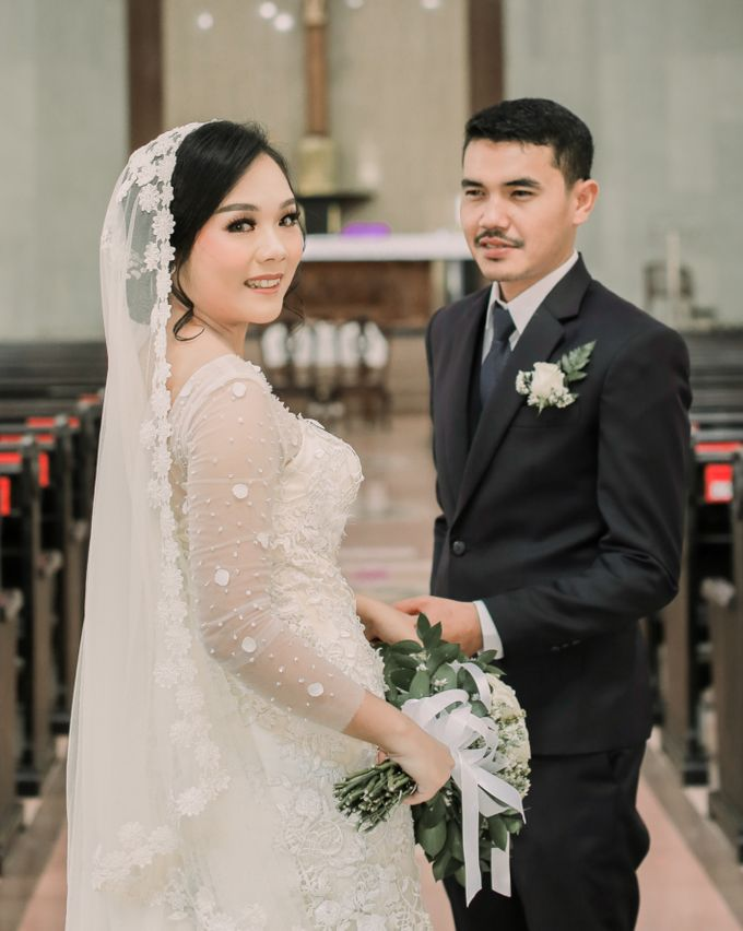 Real intimate wedding on pandemic 2020 MARIA & GALUNG by Kimus Pict - 009