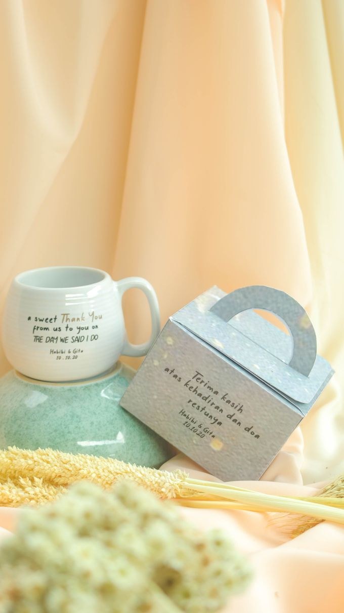 MUG DONAT MINI by Mug-App Wedding Souvenir - 002
