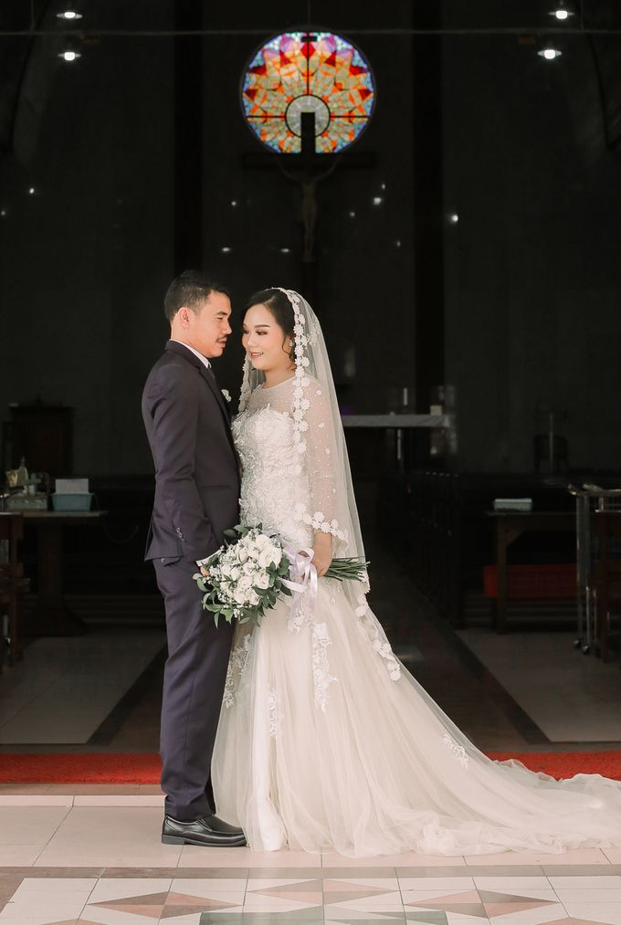 Real intimate wedding on pandemic 2020 MARIA & GALUNG by Kimus Pict - 010