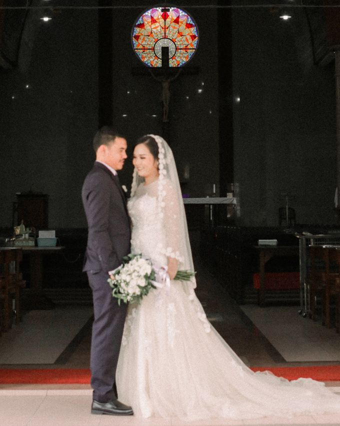 Real intimate wedding on pandemic 2020 MARIA & GALUNG by Kimus Pict - 011