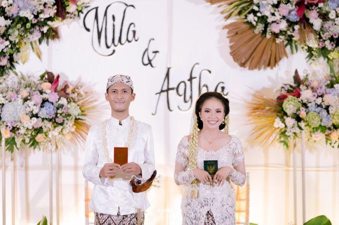 Akad Nikah Mila & Aqfha by Gasim Wedding Organizer - 003