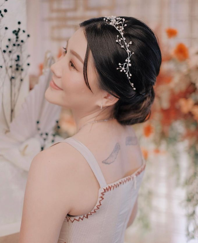 This Wedding is made intimate but not just that, every single details made personal to the bride and groom. In the midst of the pandemic, we understan by KAIA Cakes & Co. - 040