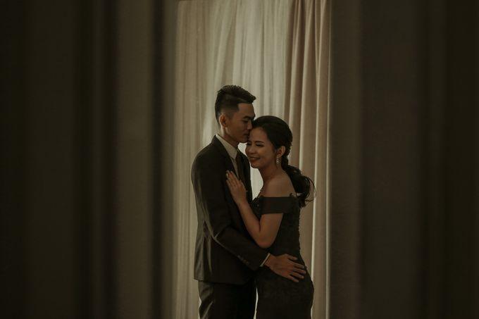 Studio Prewedding - Ana & Ezral by Willie William Photography - 002