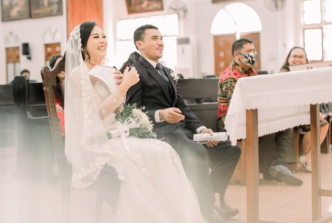 Real intimate wedding on pandemic 2020 MARIA & GALUNG by Kimus Pict - 016