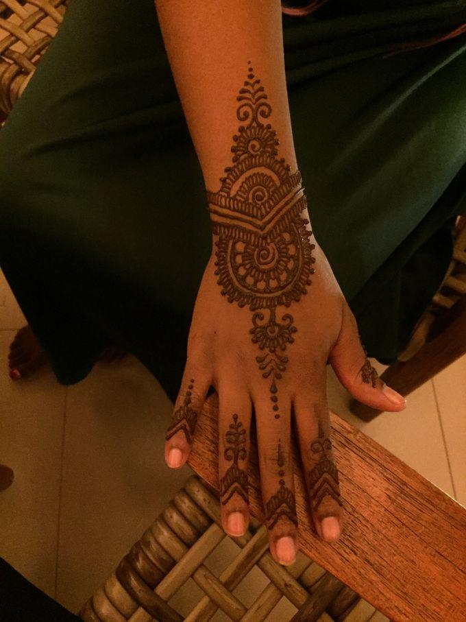 Henna service on Myrin and Sarnia Wedding by Nirvana Henna by Shinta - 008