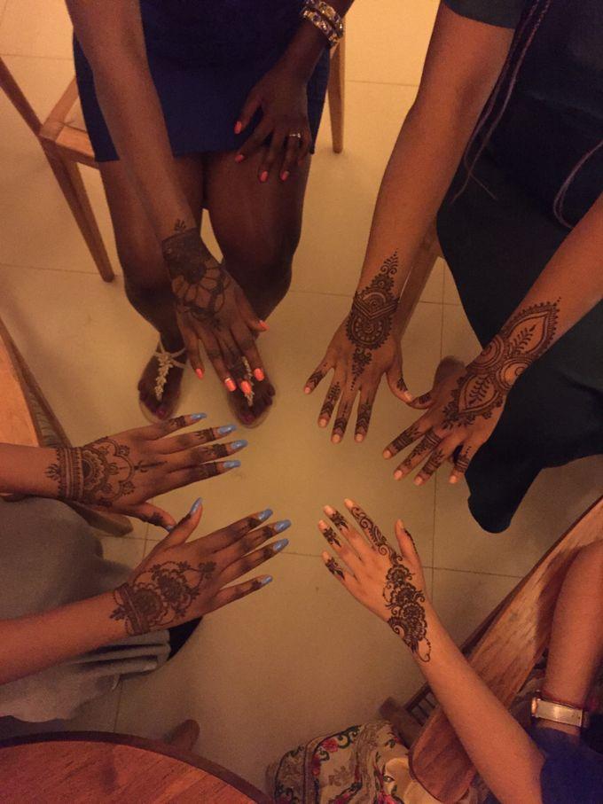 Henna service on Myrin and Sarnia Wedding by Nirvana Henna by Shinta - 009