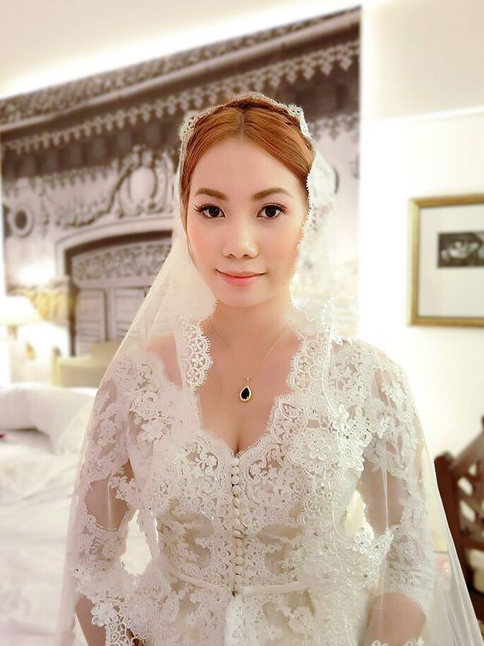 Thailand Lynn Victorian Wedding Day by Stephy Ng Makeup and Hair - 002