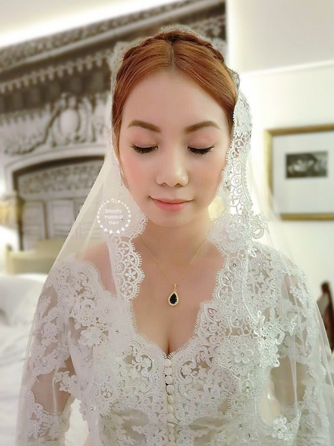 Thailand Lynn Victorian Wedding Day by Stephy Ng Makeup and Hair - 003