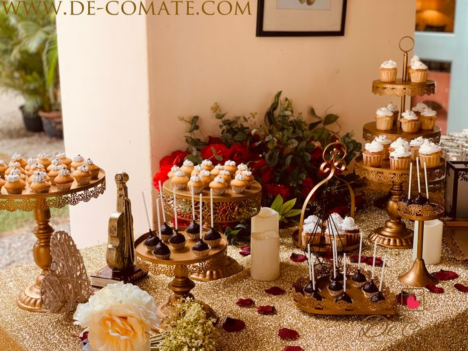Elegant Fall Burgundy and Gold by de comate - 050
