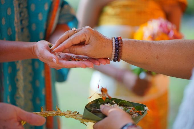 Margarita and Aleksei Wedding Blessing Ceremony by Fivelements Bali Retreat - 007