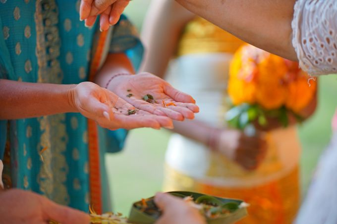 Margarita and Aleksei Wedding Blessing Ceremony by Fivelements Bali Retreat - 006