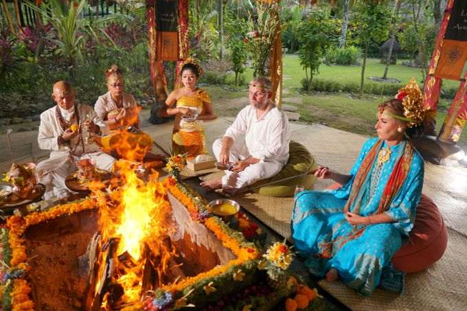 Margarita and Aleksei Wedding Blessing Ceremony by Fivelements Bali Retreat - 004