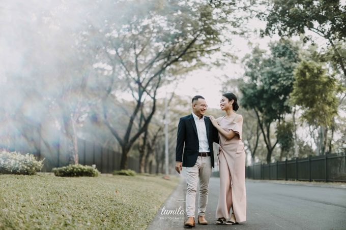 Devi & Shabrina Prewedding at Kebayoran by Lumilo Photography - 004