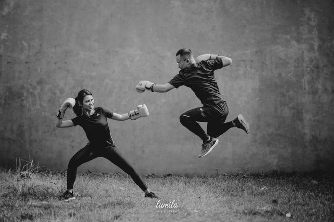 Devi & Shabrina Prewedding at Kebayoran by Lumilo Photography - 029