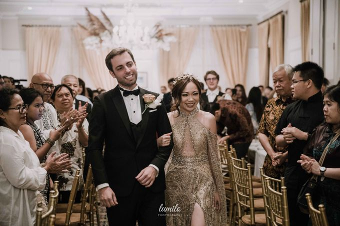 Filipo & Margareth Widding at The Hermitage Jakarta by Lumilo Photography - 043
