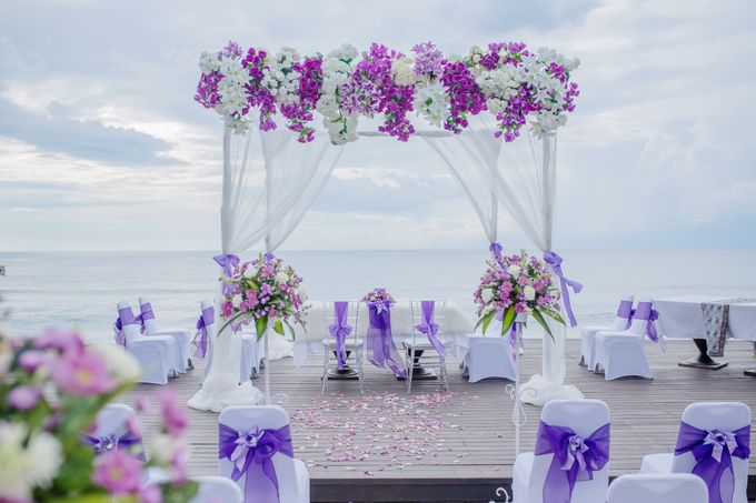 Purple Wedding Setup by Sudamala Resorts - 001