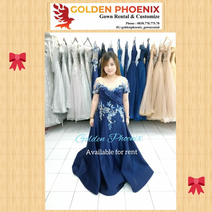Sewa Gaun Dress Mama Sister Prewedding by Golden Phoenix Rent Gown - 028