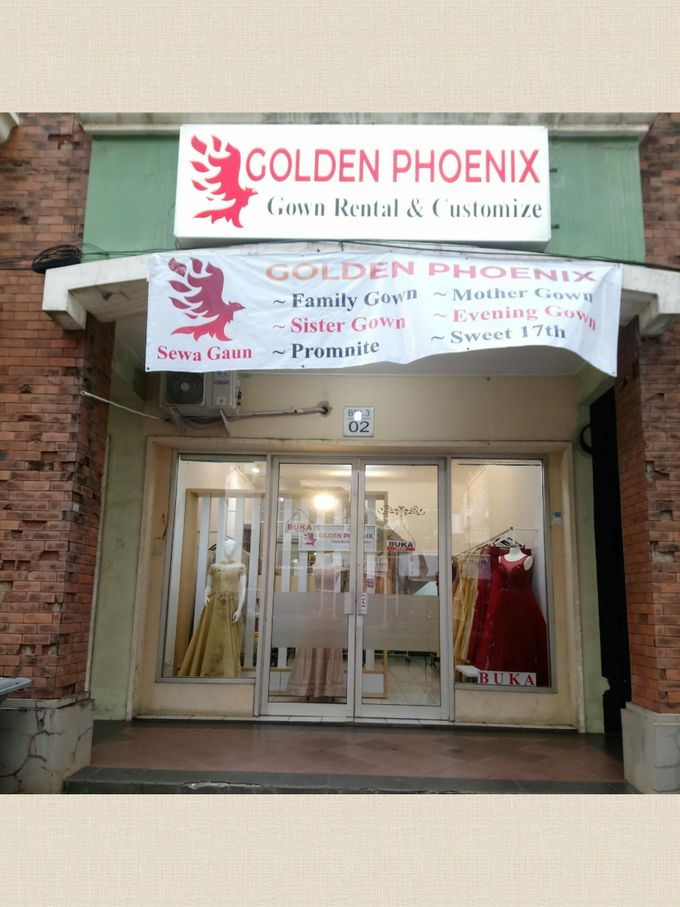 Sewa Gaun Dress Mama Sister Prewedding by Golden Phoenix Rent Gown - 027