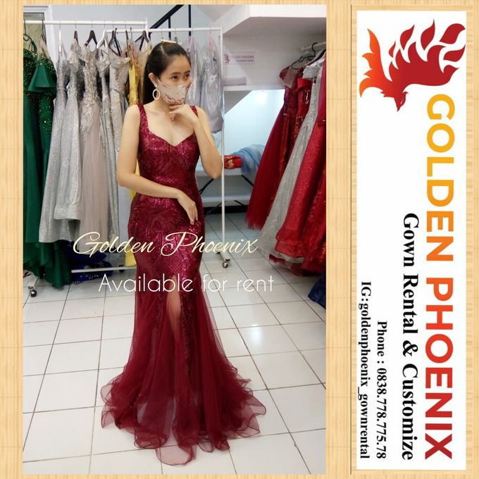 Sewa Gaun Dress Mama Sister Prewedding by Golden Phoenix Rent Gown - 026